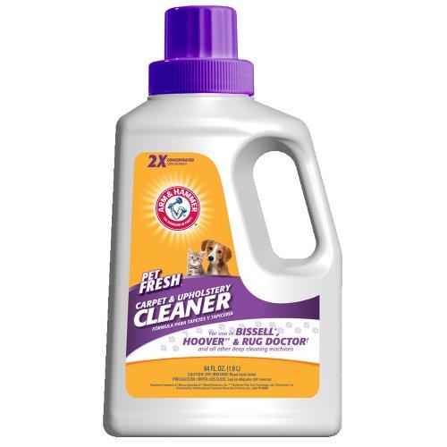 Arm & Hammer Pet Fresh Carpet Cleaner 2x Formula – 64oz Bottle