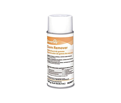 Diversey Gum and Wax Remover 6.5-Ounce, Case of 12