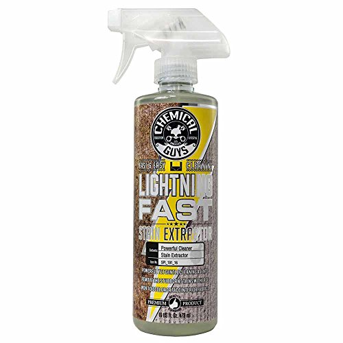 Chemical Guys SPI_191_16 Lightning Fast Carpet and Upholstery Stain Extractor 16 oz