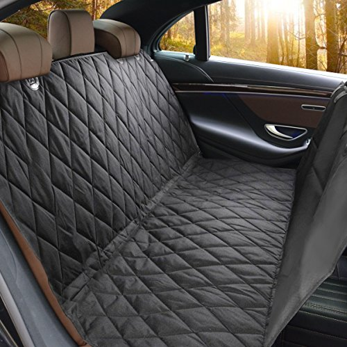 Perfect For Cars, SUVs and Trucks In Universal Size, WaterProof & Hammock Convertible, Installing Easily – Pet Seat Cover, LifepulTM Dog Seat Cover For Cars Anti Slip In Large Size