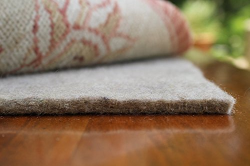 9×12 Mohawk Felt Rug Pads for Hardwood Floors-3/8 Inch Thick-Oriental Rug Pads-100% Recycled-Safe for All Floors