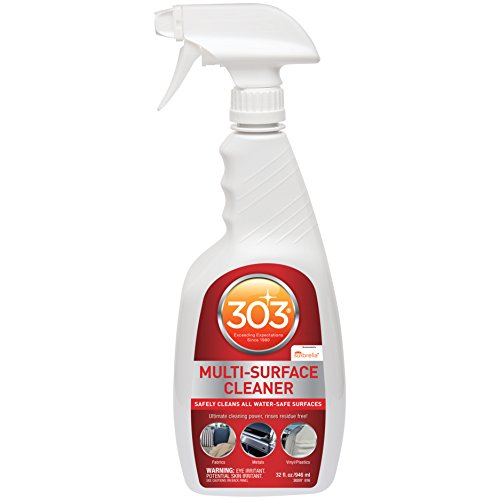 303 Multi Surface Cleaner Spray, All Purpose Cleaner for Home, Patio, Car Care and Outdoor, 32 fl. oz., Pack of 6