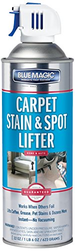 22 fl. oz., Pack of 6 – Blue Magic 900-06PK Carpet Stain and Spot Lifter