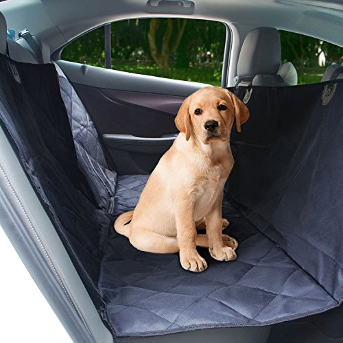 Pet Car Seat Cover, Relohas Dog Seat Cover, Hammock with Waterproof, Scratch-proof, Stain-proof, Slip-proof, Machine Washable Oxford Fabric, Suitable for Most Cars, Trucks and SUV
