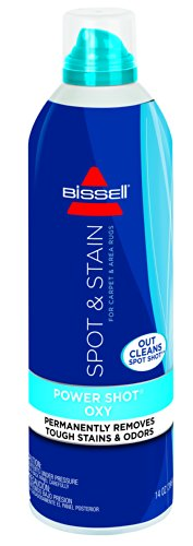 BISSELL Power Shot Oxy for Carpet & Area Rugs, 14 ounces, 13A2