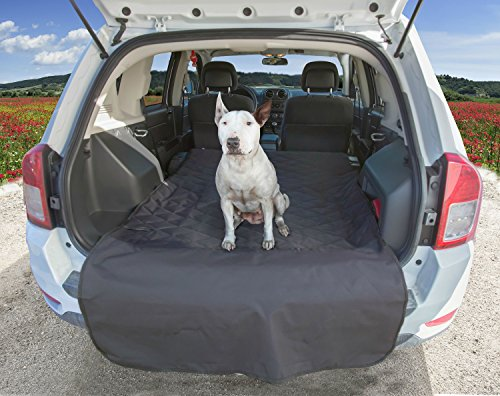 USA Based Company – Black Large – SUV Cargo Liner for Dogs