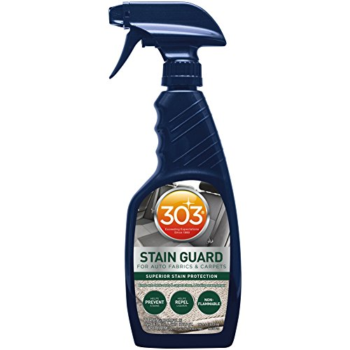 303 30676 Fabric Protector and Stain Guard for Auto Interior Fabrics, Carpets and Floor Mats, 16 fl. oz.