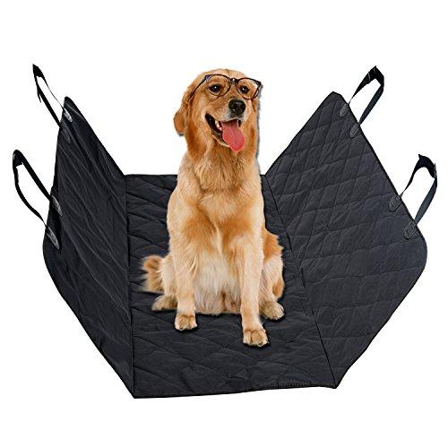 Pet Seat Covers, Vitalismo Dog Car Seat Covers Waterproof Nonslip Pet Car Seat For Cars – Black