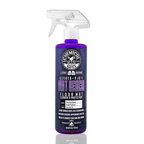 Chemical Guys CLD_700_16 Floor Mat Cleaner and ProtectantRubber + Vinyl, 16 fl. oz