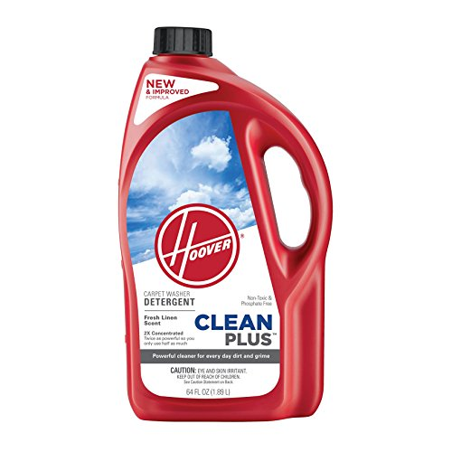 Hoover AH30330NF Cleanplus 2X Concentrated Carpet Cleaner and Deodorizer, 64oz