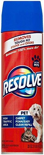 Resolve Pet High Traffic Foam Area Carpet Cleaner, 22 oz., Large