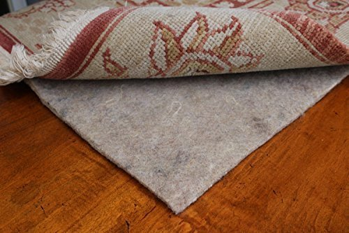 8×11 Mohawk Felt Rug Pads for Hardwood Floors-3/8 Inch Thick-Oriental Rug Pads-100% Recycled-Safe for All Floors