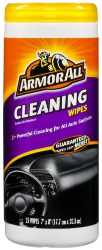 Armor All 10832 Cleaning Wipe – 25 Sheets – 2 Pack