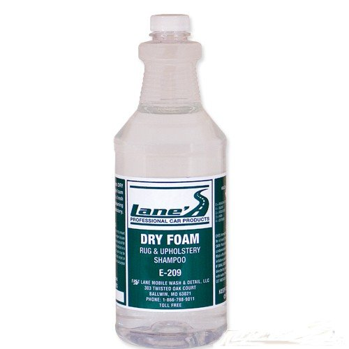 32 oz – Lane's Car Products Dry Foam Upholstery Cleaner