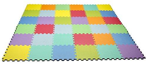 HemingWeigh Kid's Multicolored Puzzle Play Mat