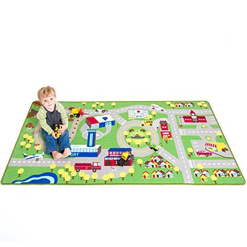 Kids Play Car Rug – Community Carpet Mat Large, 78″ x 39″