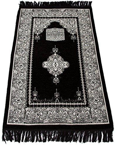Sajda Rugs Best Quality Prayer Rug – Turkish Islamic Muslim Prayer Rugs Janamaz Prayer Mat Ramadan Eid Gifts