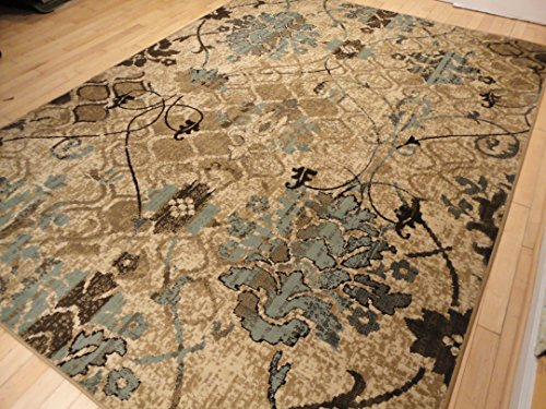 Contemporary Rugs For Living Room Dining Area Rugs 5×8 Clearance Under 50 Bed Room Rugs Office Rugs Blue Carpet Beige Cream Modern Rug