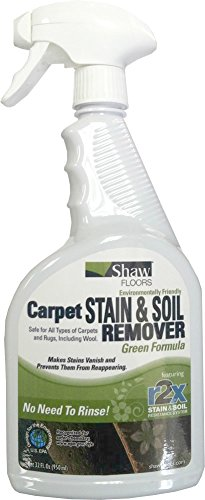 Shaw R2X GREEN Carpet Stain & Soil Remover 32oz Spray