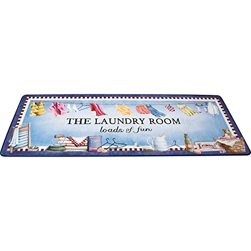 Loads of Fun Laundry Room Floor Mat