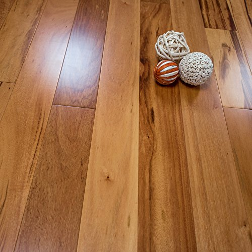 Brazilian Teak Prefinished Engineered 5 X 12 Wood Flooring W2mm