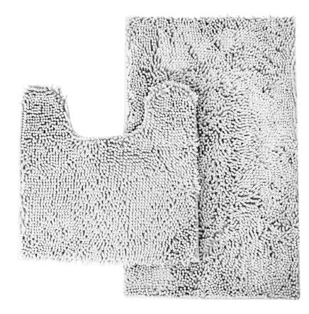 Bathroom Rugs That Absorb Water.Chesey Microfiber Non Slip Bathroom Rugs Mat Set 2 Piece With