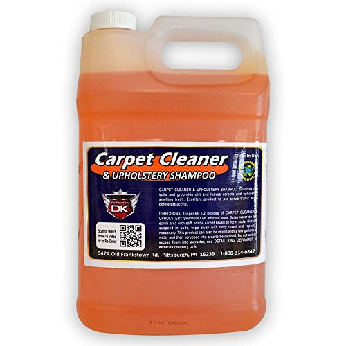 Detail King Automotive Carpet Cleaner & Upholstery Shampoo Gallon