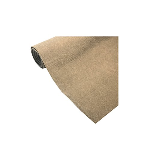 Marine Upholstery Durable Un-Backed Automotive Trim Carpet 72″ x 36″ Mini Roll TAUPE