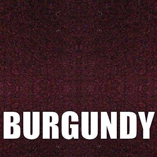 Boat Trailer Bunk Carpet Burgundy, 16oz 12″ in Wide x 12′ ft Long