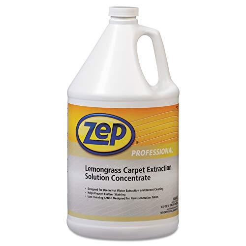 Zep Professional Carpet Extraction Cleaner, Lemongrass, 1gal Bottle Lemon