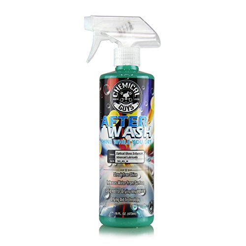 Chemical Guys CWS_801_16 After Wash Shine While You Dry Drying Agent with Hybrid Gloss Technology 16 oz