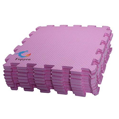 EVA foam puzzle mat,EVA Foam Mat Baby,EVA Foam Interlocking Floor Mats,9 Titles and Edges Exercis Mat,12″ by 12″