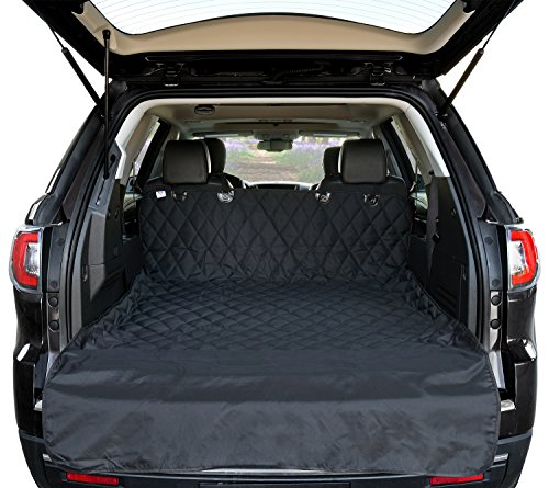Universal Fit – Arf Pets Cargo Liner Cover for SUVs and Cars, Waterproof Material, Non Slip Backing, Extra Bumper Flap Protector, Large Size