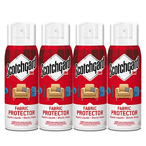 Scotchgard Fabric & Upholstery Protector, 4 Cans/10-Ounces 40 Ounces Total – 4106-10-4