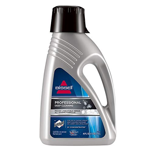 Bissell 78H6B Deep Clean Pro 2X Deep Cleaning Concentrated Carpet Shampoo, 2 Bottles 48 ounces
