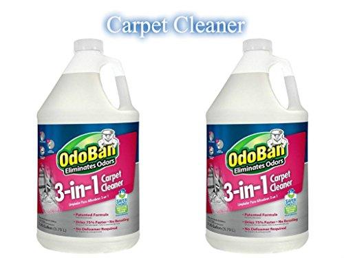 OdoBan 1 Gal 3-in-1 Carpet Cleaner, 2-Pack