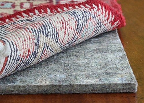 Rug Pad USA, 1/2″ Thickness,  3'x5′, Eco Plush Felt Rug Pads- Preserve Rug, Protect Floor