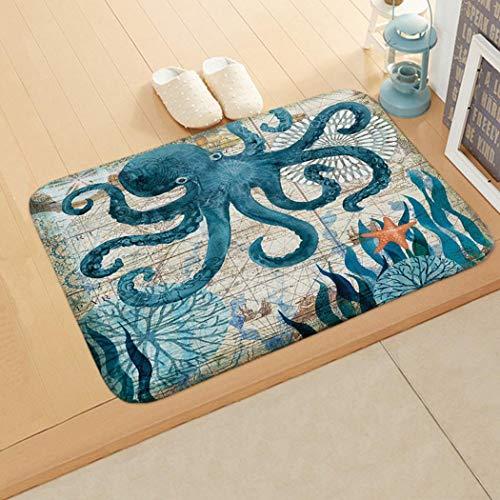 Floor Mat Door Mat Bedroom Bathroom Home Absorbent Non-Slip Carpet Mat