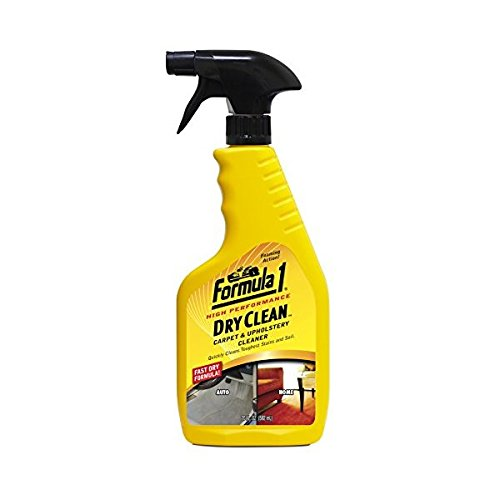 Formula 1 Northern Labs Dry Clean Carpet and Upholstery Cleaner – for Car and Home Use – 20 fl. oz.