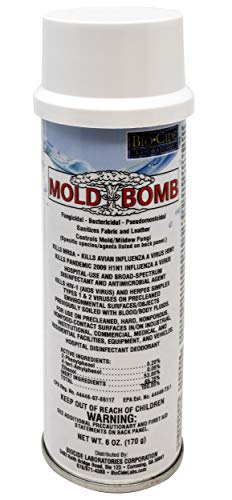 BioCide Mold Bomb Fogger – Kill, Clean and Prevent Mold, Mildew, Germs, Viruses, Fungi and Bacterias, DIY Mold Remediation – Mold Killer & Remover