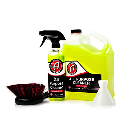 Powerful, Professional Strength Formula That Easily Cuts Heavy Grease & Tar, Tire Cleaner, Engine Bay Cleaner, and More Collection – Adam's Heavy Duty All Purpose Cleaner & Degreaser