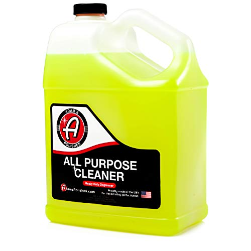 Powerful, Professional Strength Formula That Easily Cuts Heavy Grease & Tar, Tire Cleaner, Engine Bay Cleaner, and More 1 Gallon – Adam's Heavy Duty All Purpose Cleaner & Degreaser