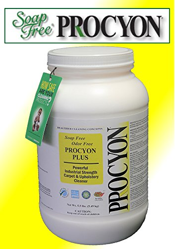 1 Each- 5.5 lb. Jar – Soap Free PROCYON PLUS Powder Carpet Cleaner
