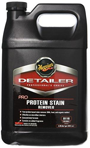 MEGUIAR'S D11601 Pro Protein Stain Remover, 1 Gallon, 128. Fluid_Ounces