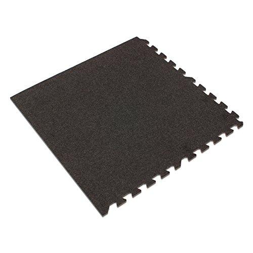 We Sell Mats Charcoal Gray, 16 sq' 16 Sqft Premium Carpet Tiles, Charcoal Gray