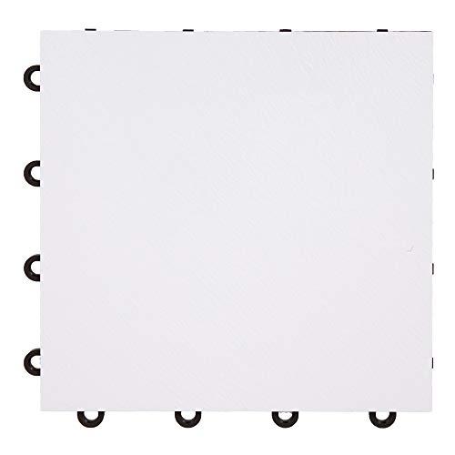 IncStores White 12″ x 12″ Practice Dance Tiles
