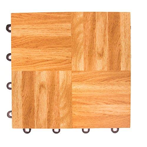 IncStores Oak 12″ x 12″ Practice Dance Tiles