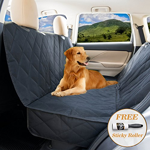 Dog seat Cover for Back seat – Hammock Dog car seat Covers for Large Dogs, Waterproof, protrct Your Vehicle only with Durable Back seat Cover for Dogs – Universal fit