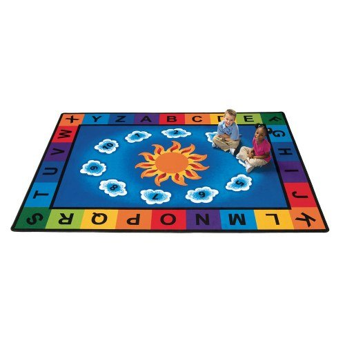 """5'10"""" x 8'4″ – Carpets for Kids Sunny Day Rectangle Carpet"""