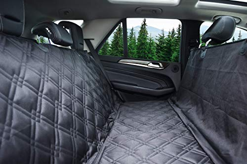 Heavy Duty Durable Quality for Cars, Trucks, Vans, and SUVs X-Large, Black – Bulldogology Premium Dog Car Seat Covers